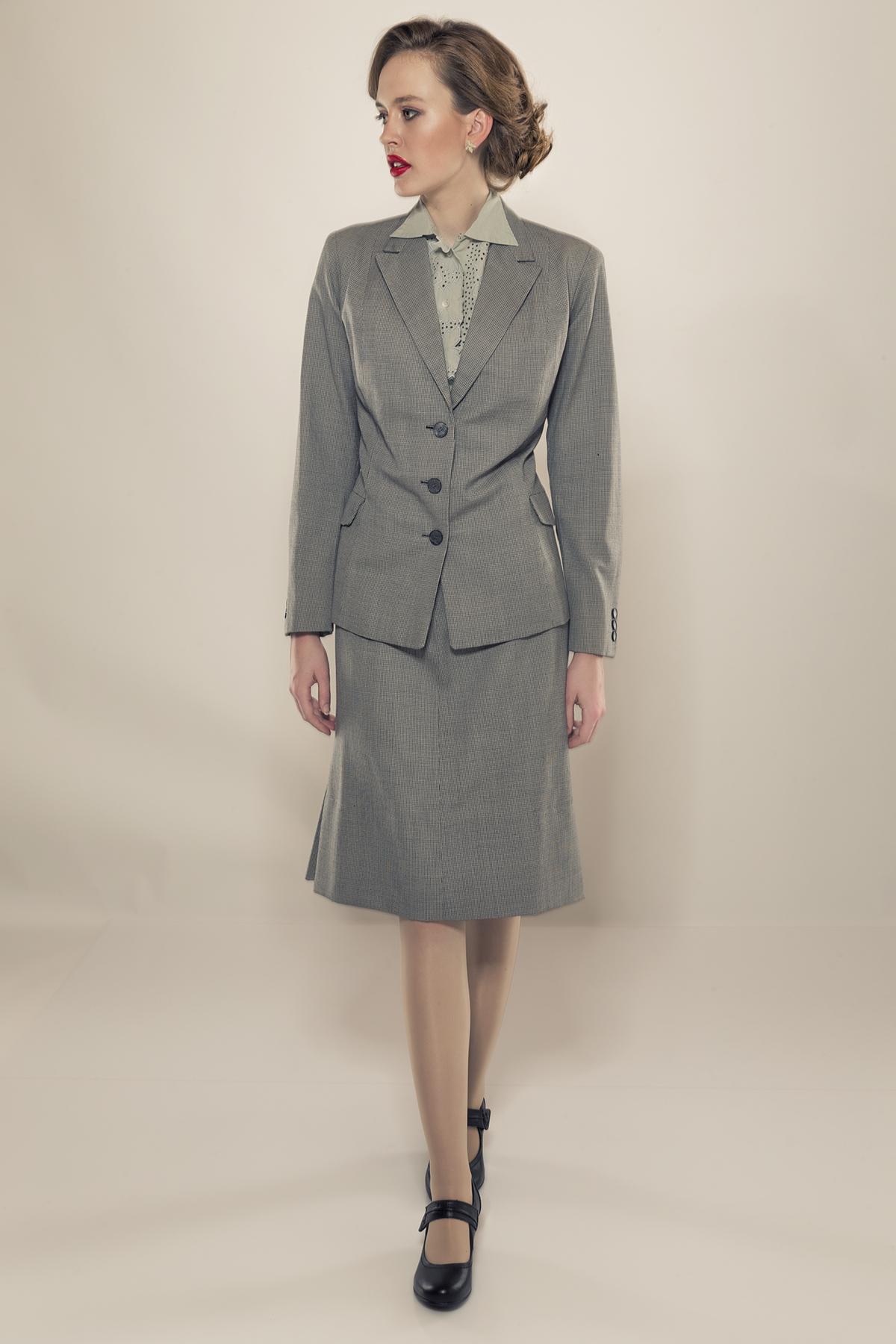 Damenmode des 20. Jahrhundert - 1940er-Jahre – schlichte Eleganz