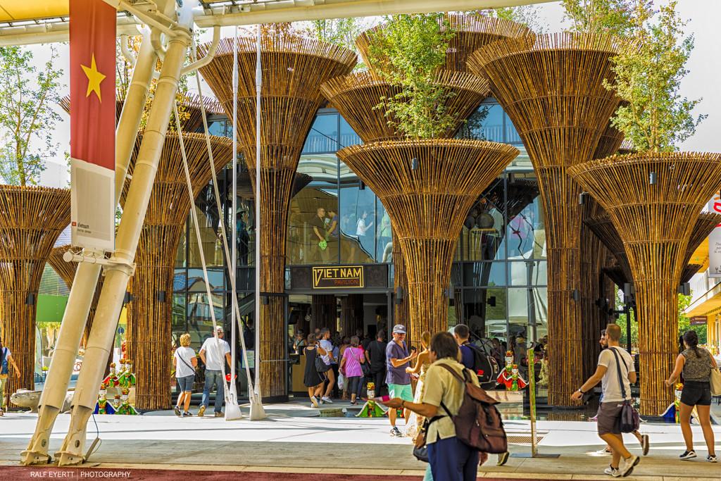 Der Pavillon von Vietnam