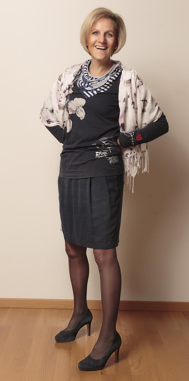 Shirt Desigual, Rock Esprit, Schuhe Paul Green