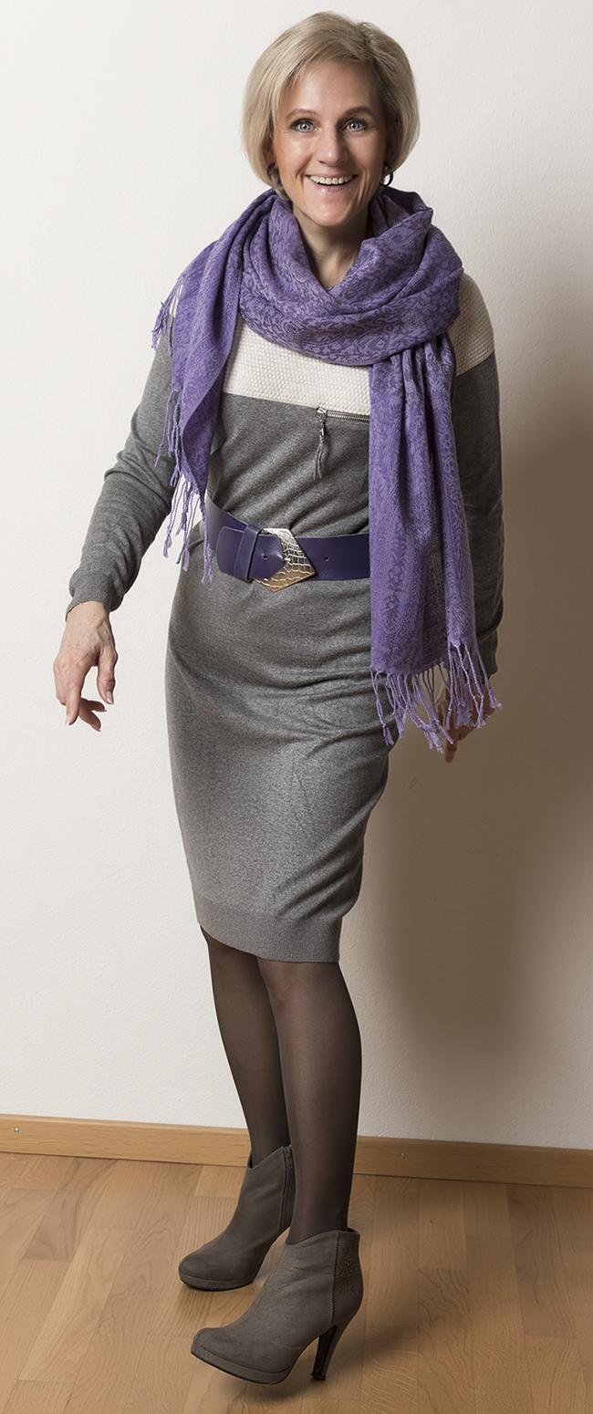 Kleid InWear, Schuhe Joi