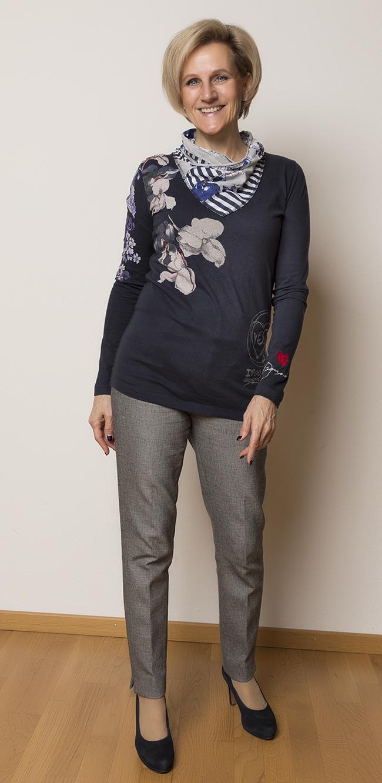 Shirt Desigual, Hose Banana Republic, Schuhe Paul Green