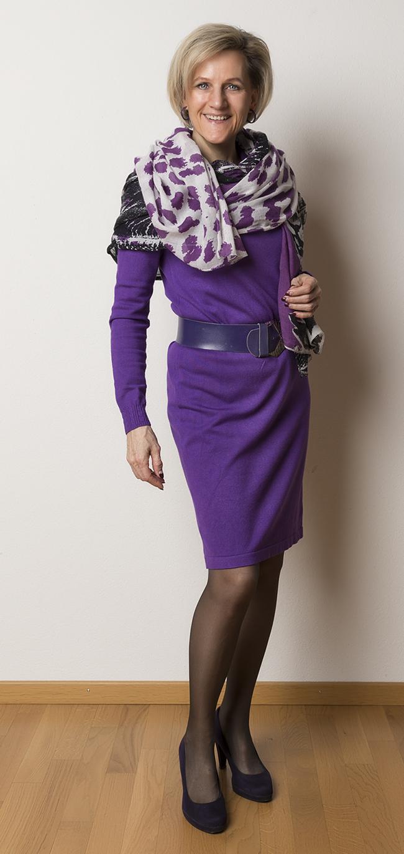 Kleid InWear, Schal und Gürtel ?, Schuhe Graceland