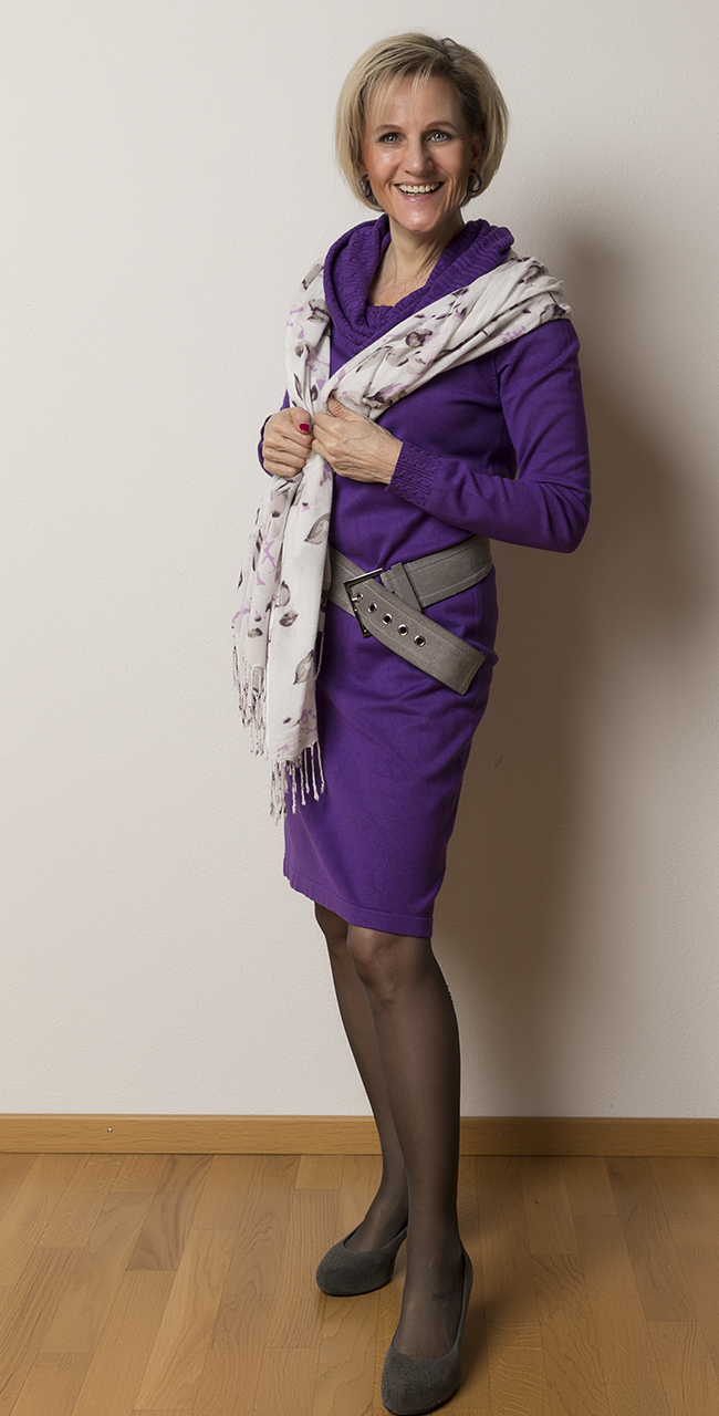 Kleid InWear, Schuhe Clarks