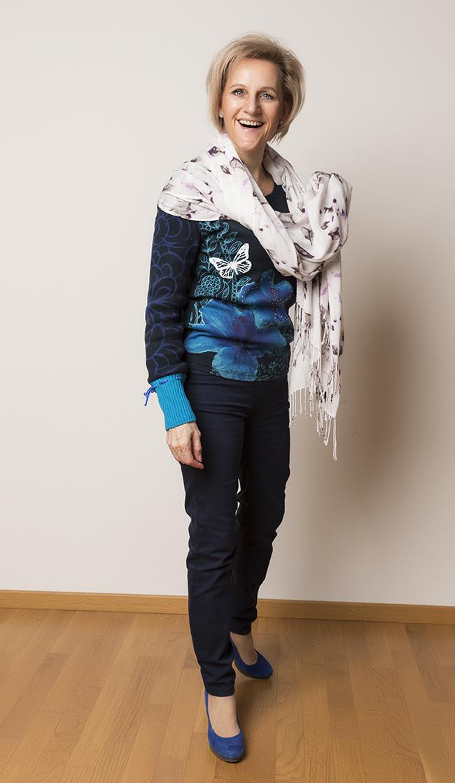 Hose Bonita, Pullover Desigual, Schuhe YKX&Co