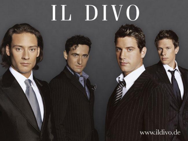 Reyro in the concert of il divo - Il divo concerti italia ...
