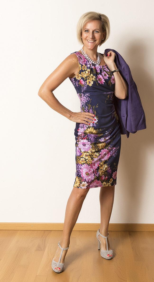 Kleid + Jacke Phase Eight, Schuhe Patritzia Rigotti