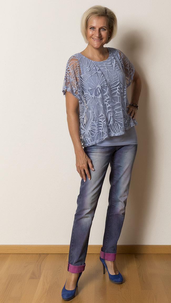 Shirt Phase Eight, Hose OGE&Co, Schuhe YKX&Co
