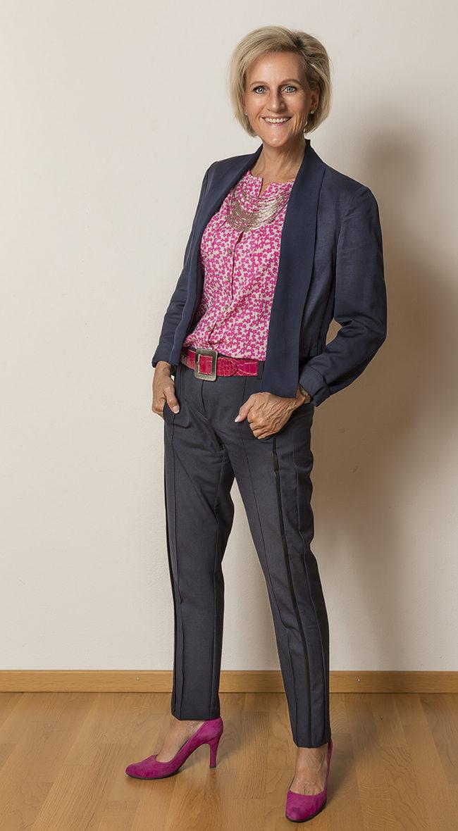 Jacke Esprit, Bluse Marc O'Polo, Hose B&B Collection, Schuhe Guilty