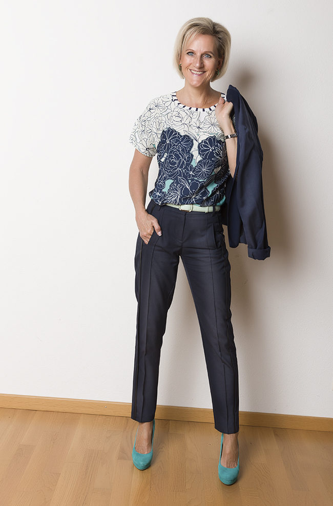 Jacke Esprit, Shirt Oltre, Hose B&B Collection, Schuhe Bata