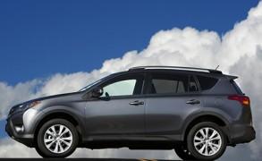 Kürzel mit Vergangenheit und Zukunft der Toyota RAV4
