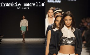 Frankie Morello @ Mercedes Benz Fashion Days Zurich 2013