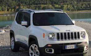 Erster Auftritt des Jeep Renegade