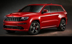 Jeep an der Automobilmesse Paris 2014