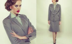 Damenmode des 20. Jahrhundert – 1940er-Jahre – schlichte Eleganz