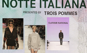 Mercedes Benz Fashion Days Zürich 2014 – Notte Italiana