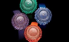 DE GRISOGONO – Neuinterpratation der filigranen Grappoli Uhr