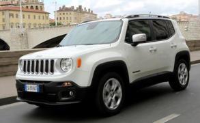 5 NCAP-Sterne für den neuen Jeep Renegade