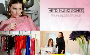 Heydi Nunez Gomez – Ihre aktuelle Kollektion 2015 weckt Frühlingsgefühle