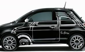 Heiss begehrt bei Sammlern: das limitierte Sondermodell Fiat 500 Ron Arad Edition