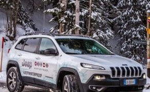 Start der Jeep Winterproof Tour 2016 in Gstaad