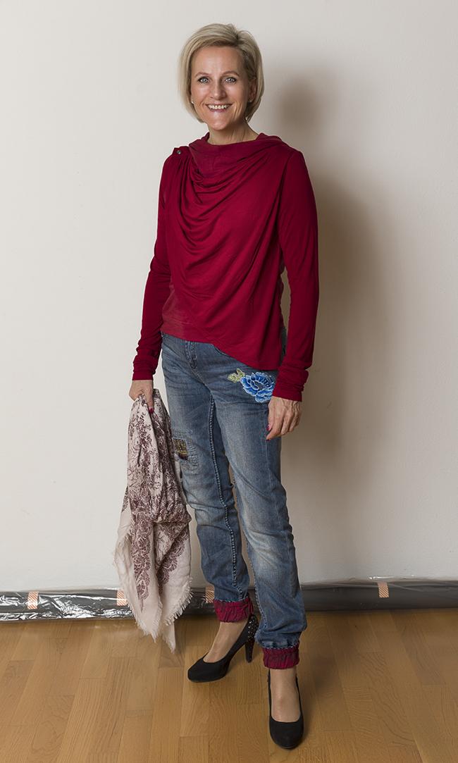 Shirt Sample Text, Hose Desigual, Schuhe Limelight