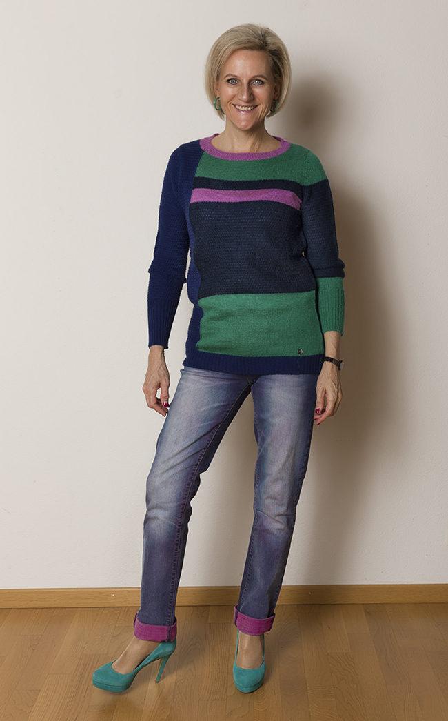 Pullover Benetton, Hose OGE & Co, Schuhe BNata