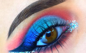 Vanessa Cisullo – Eyeshadow Liner in Blue