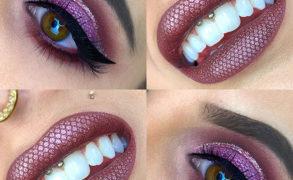 Vanessa Cisullo – Gitter Lips und Eyes