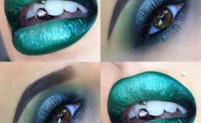 Vanessa Cisullo – Green Lips and Halo Eyes