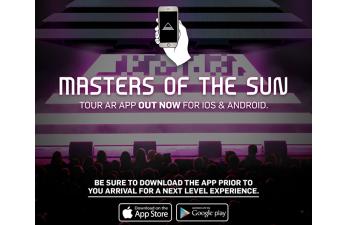 Die BLACK EYED PEAS präsentieren ihre «Augmented Reality»-APP für die «MASTERS OF THE SUN» Europa Tournee