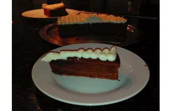 Schneller Sckokoladenkuchen auf Französisch