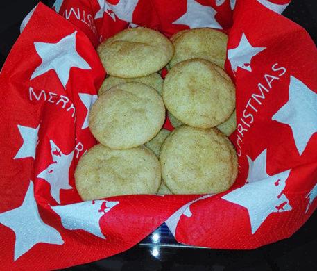 Snickerdoodle Kekse