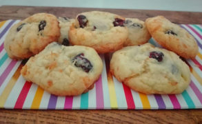 Cranberry Kokos Cookies – Backrezept