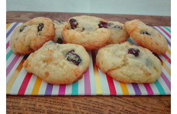 Cranberry Kokos Cookies