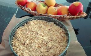 Apfel-Streusel-Kuchen – Backrezept