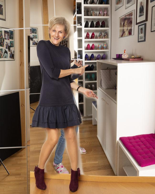 Kleid Cos, Schuhe Graceland